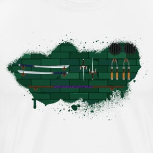 Teenage Mutant Ninja Weapons - Men's Premium T-Shirt