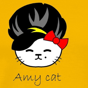 Amy cat - Men's Premium T-Shirt