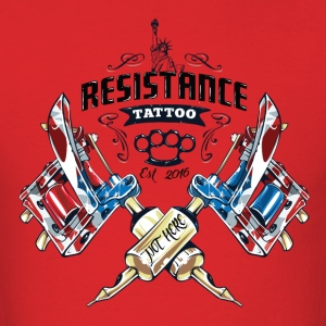 Resistance Tattoo - Men's T-Shirt