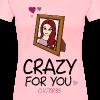 Women's Crazy For Ariana T-Shirt - Women's Premium T-Shirt