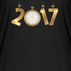 2017 Happy New Years Gold Countdown to Midnight T-Shirts - Women's Flowy T-Shirt