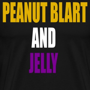 Peanut Blart And Jelly - Paul Blart T-Shirts - Men's Premium T-Shirt