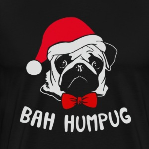 Christmas Pug - Men's Premium T-Shirt
