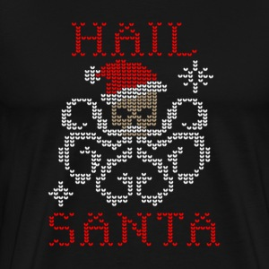Hail Santa Octopus - Men's Premium T-Shirt