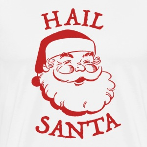 Hail Santa Beard Face - Men's Premium T-Shirt