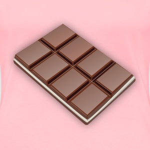 Chocolate bar - Women's Premium T-Shirt
