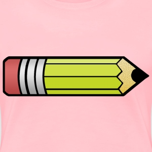 Simple Pencil colorized - Women's Premium T-Shirt