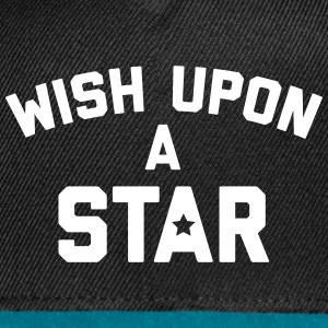 Wish Upon Star Quote Sportswear - Snap-back Baseball Cap