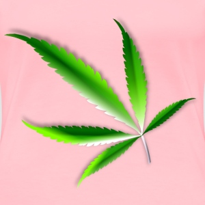 Cannabis leaf - Women's Premium T-Shirt