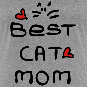 best cat mom  Women's Premium T-Shirt - Women's Premium T-Shirt