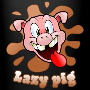 lazy pig Mugs & Drinkware - Full Color Mug