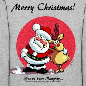 Merry Christmas:   You've been Naughty! Hoodies - Women's Hoodie