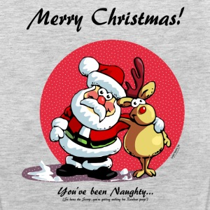 Merry Christmas:   You've been Naughty! Tanks - Women's Premium Tank Top