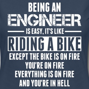 Being An Engineer... Long Sleeve Shirts - Women's Premium Long Sleeve T-Shirt
