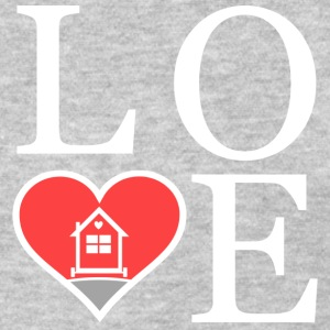 Love Tiny Houses - Heart T-Shirts - Women's T-Shirt