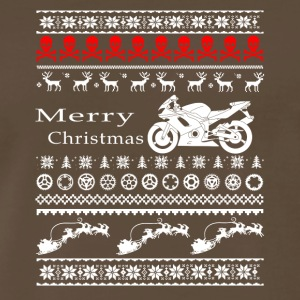 merry christmas motorcycle - Men's Premium T-Shirt