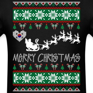 merry_christmas_korean T-Shirts - Men's T-Shirt