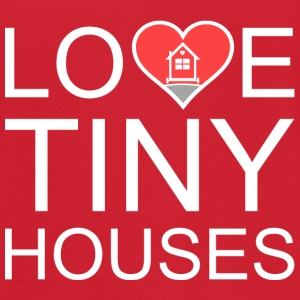 Love Tiny Houses - Heart T-Shirts - Women's Flowy T-Shirt