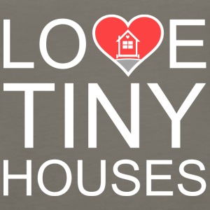 Love Tiny Houses - Heart Tanks - Women's Premium Tank Top