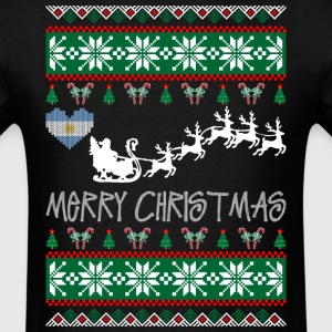 merry_christmas_argentinean T-Shirts - Men's T-Shirt