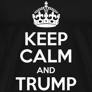 Keep Calm and Trump T-Shirts - Men's Premium T-Shirt