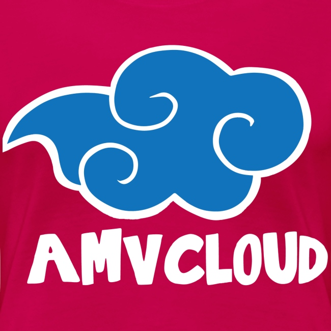 AmvCloud logo + Blue Cloud Women's T-shirt