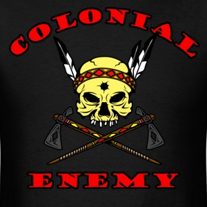 coLonial enemy 2 T-Shirts - Men's T-Shirt