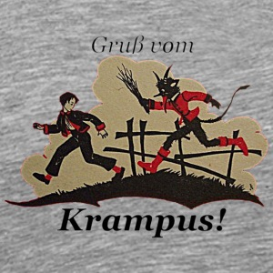 Gruss vom Krampus! - Men's Premium T-Shirt