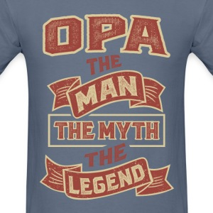 Opa The Myth T-shirts Gifts - Men's T-Shirt