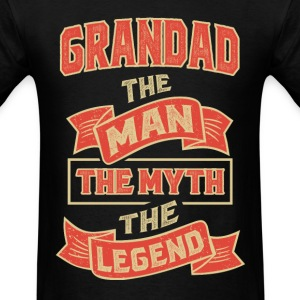 Grandad The Myth T-shirts Gifts - Men's T-Shirt