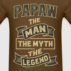 Papaw The Myth T-shirts Gifts - Men's T-Shirt
