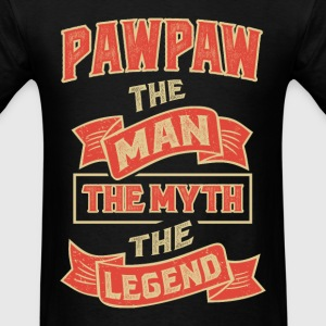 Pawpaw The Myth T-shirts Gifts - Men's T-Shirt
