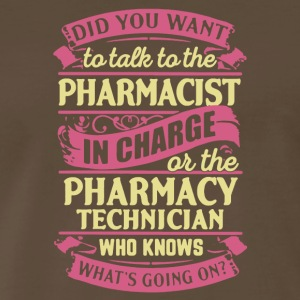 Pharmacy Technician Shirt - Men's Premium T-Shirt