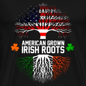 Irish - American grown with Irish roots t-shirt - Men's Premium T-Shirt