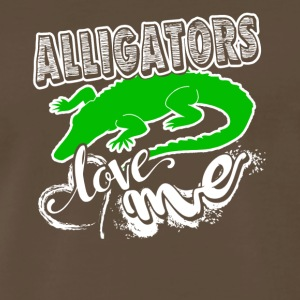 Alligator Love Me Shirt - Men's Premium T-Shirt