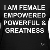 FEMALE Empowerment Quotes T-shirt. Stephanie Lahart's Signature Tee. Inspiring Women & Girls All Over the World. - Women's T-Shirt