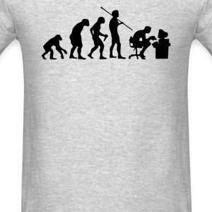 Evolution Computer User - Men's T-Shirt