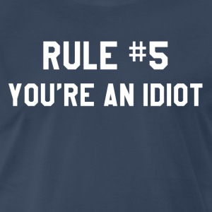 Wedding Crashers - Rule #5 T-Shirts - Men's Premium T-Shirt