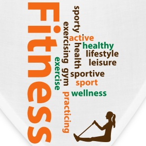 Fitness words Caps - Bandana