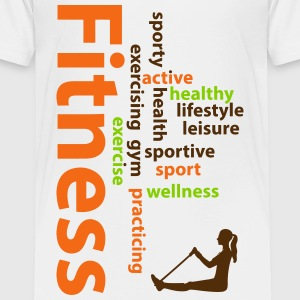 Fitness words Baby & Toddler Shirts - Toddler Premium T-Shirt
