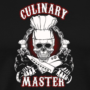 Chef Culinary Master - Men's Premium T-Shirt