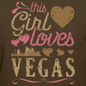 This Girl Loves Vegas - Las Vegas Gift T-Shirts - Women's T-Shirt