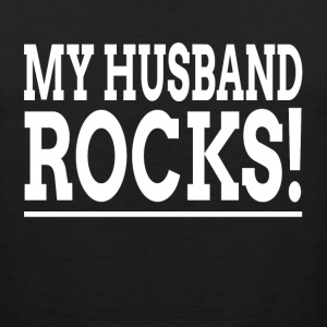 MY HUSBAND ROCKS! Sportswear - Men's Premium Tank