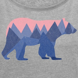 Bear Mountain - Women´s Roll Cuff T-Shirt