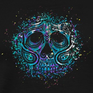 Splash Skull - Men's Premium T-Shirt