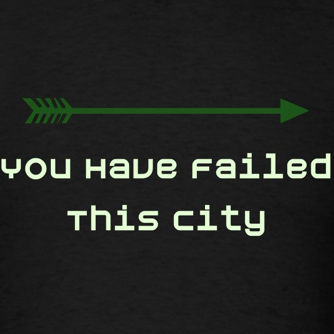 You Have Failed This City