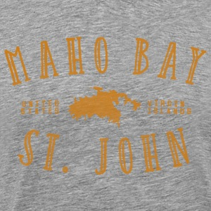 Maho Bay T-Shirt by Verbeeish - Men's Premium T-Shirt
