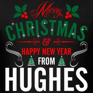 mery_christmas_happy_new_year_from_hughe T-Shirts - Men's T-Shirt