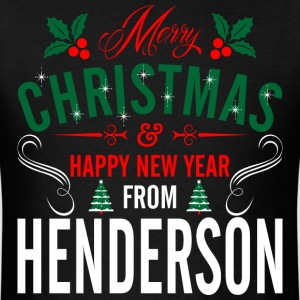 mery_christmas_happy_new_year_from_hende T-Shirts - Men's T-Shirt