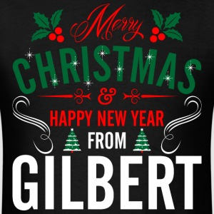mery_christmas_happy_new_year_from_gilbe T-Shirts - Men's T-Shirt